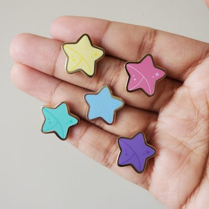 Colorful Origami Stars